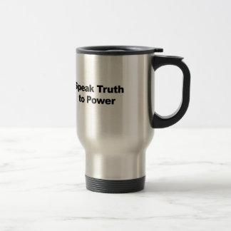 Caneca Térmica Fale a verdade ao poder