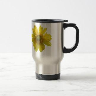 Caneca Térmica Flor amarela