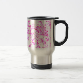 Caneca Térmica Flor cor-de-rosa do Dogwood