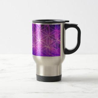 Caneca Térmica Flor de chama violeta da vida