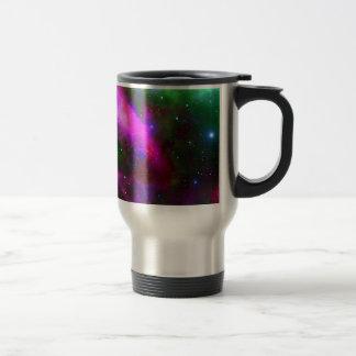 Caneca Térmica Foto do espaço da nebulosa