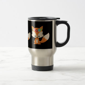 Caneca Térmica Fox do outono de Boho