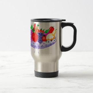Caneca Térmica Fruta na arte do vaso