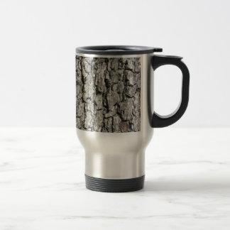 Caneca Térmica Fundo da textura do latido de árvore da pera
