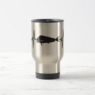 Caneca Térmica Golfinho/peixes de Mahi Mahi - pulso da pulsação