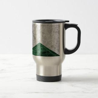 Caneca Térmica Granito concreto #412 do verde da seta