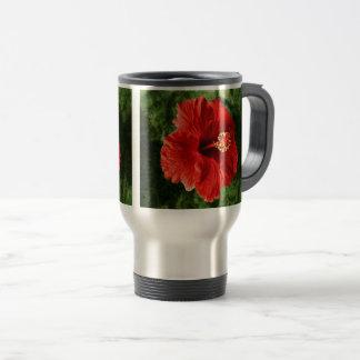 Caneca Térmica Hibiscus vermelho