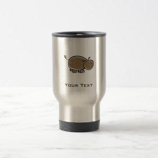 Caneca Térmica Hipopótamo bonito; Legal