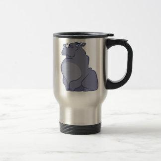 Caneca Térmica Hipopótamo para o Natal