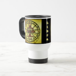 Caneca Térmica Horóscopo do design da astrologia do zodíaco do
