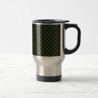 Caneca Térmica Ilha do impressão projetado Tartan de Skye