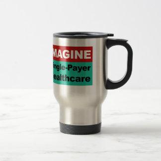 Caneca Térmica Imagine únicos cuidados médicos do pagador