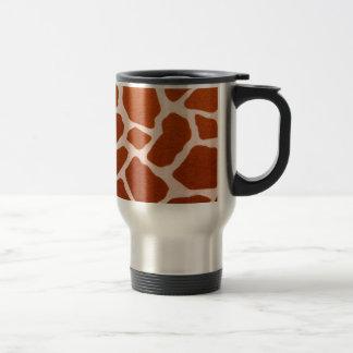 Caneca Térmica Impressão selvagem do girafa