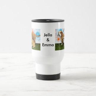 Caneca Térmica Jella = Corgi e Emma = Basset e buldogue do