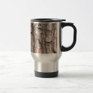 Caneca Térmica Latido do pinheiro escocês como o fundo