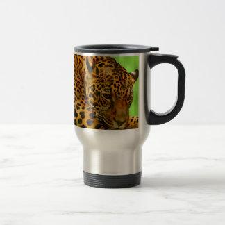 Caneca Térmica Leopardo no registro de Brown
