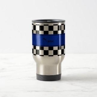 Caneca Térmica Listra azul personalizada dos verificadores