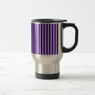 Caneca Térmica Listras finas - luz - violetas e violeta escura