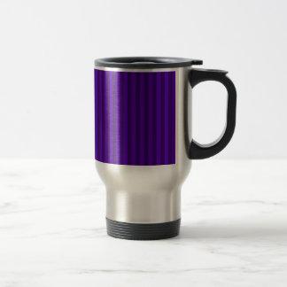 Caneca Térmica Listras finas - violetas e violeta escura