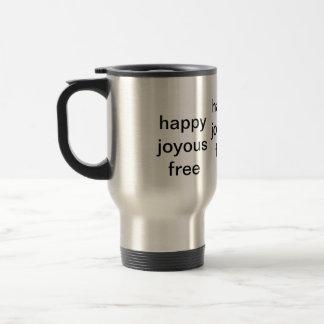 Caneca Térmica livre feliz feliz