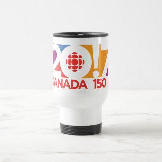 Caneca Térmica Logotipo 2017 de CBC/Radio-Canada