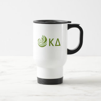 Caneca Térmica Logotipo grande de Lil do delta do Kappa