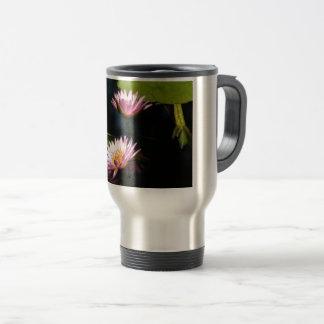 Caneca Térmica Lotus roxo cor-de-rosa Waterlilies