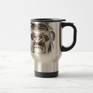 Caneca Térmica macaco feio do vintage