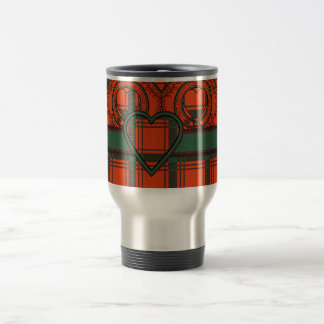 Caneca Térmica Macdonald do Tartan do Scottish de Sleate
