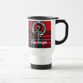 Caneca Térmica MacGregorRed1, crachá de Gregor, clã Gregor,