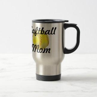 Caneca Térmica Mamã do softball com bola