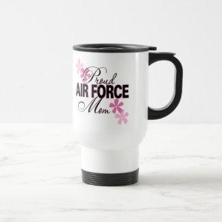 Caneca Térmica Mamã orgulhosa da força aérea