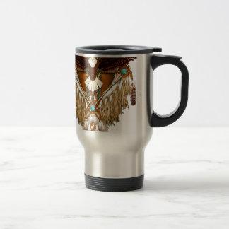 Caneca Térmica Mandala da águia americana - revisada