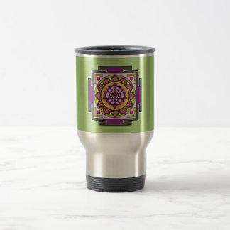 Caneca Térmica Mandala de Sri Yantra