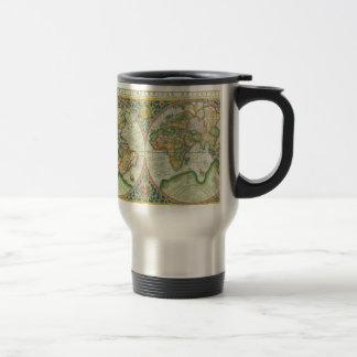 Caneca Térmica Mapa antigo do mundo
