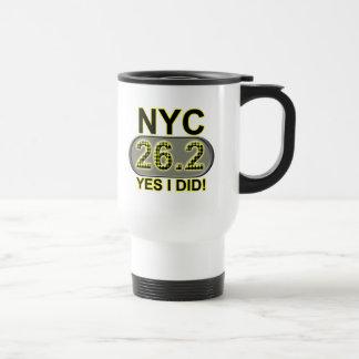 Caneca Térmica Maratona da Nova Iorque