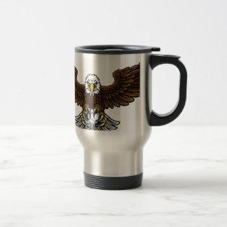Caneca Térmica Mascote do futebol do futebol de Eagle