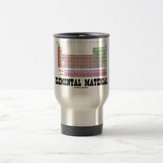 Caneca Térmica Material elementar (mesa de elementos periódica)