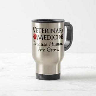 Caneca Térmica Medicina veterinária…. Porque os seres humanos são
