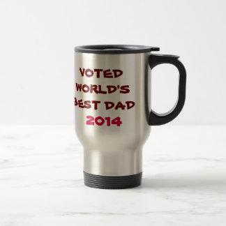 Caneca Térmica Melhor copo votado do viagem do pai