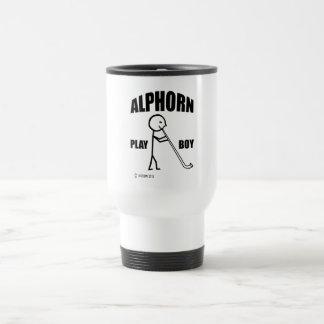 Caneca Térmica Menino do jogo de Alphorn
