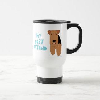 Caneca Térmica Meu melhor amigo galês Terrier