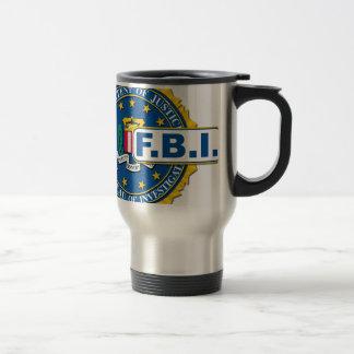 Caneca Térmica Modelo do selo do FBI