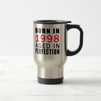 Caneca Térmica Nascer envelhecido em 1998 na perfeição