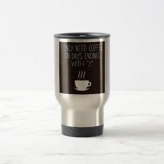 Caneca Térmica Necessidades do café