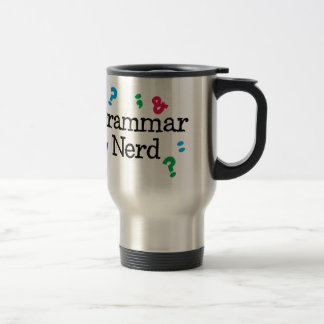Caneca Térmica Nerd da gramática