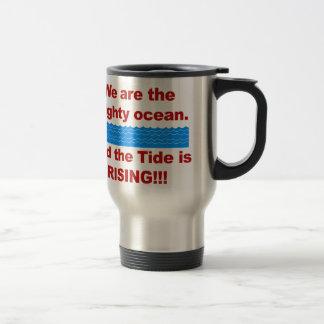 Caneca Térmica Nós somos o oceano poderoso e a maré está