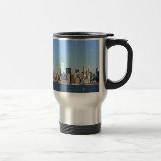 Caneca Térmica Nova Iorque da skyline de Manhattan