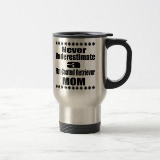 Caneca Térmica Nunca subestime mamã Liso-Revestida do Retriever