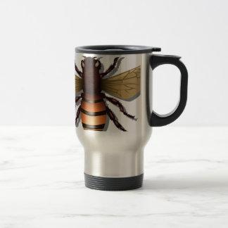 Caneca Térmica O amarelo customizável Bumble a abelha